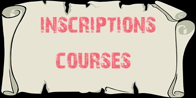 Inscriptions Courses Club Manikou 2018